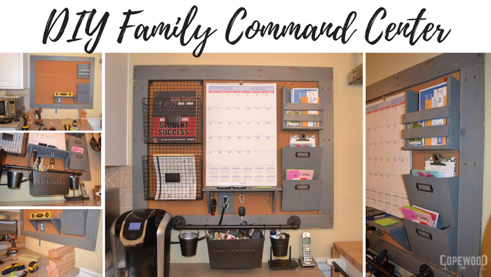 Diy family command center how to video copewood diy family command center solutioingenieria Choice Image